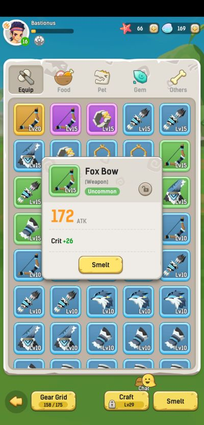 how to clear storage in ulala idle adventure
