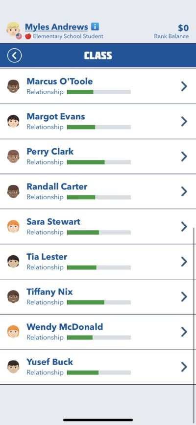 how to deal with classmates in bitlife