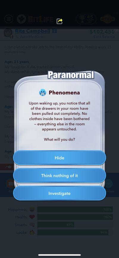 bitlife phenomena