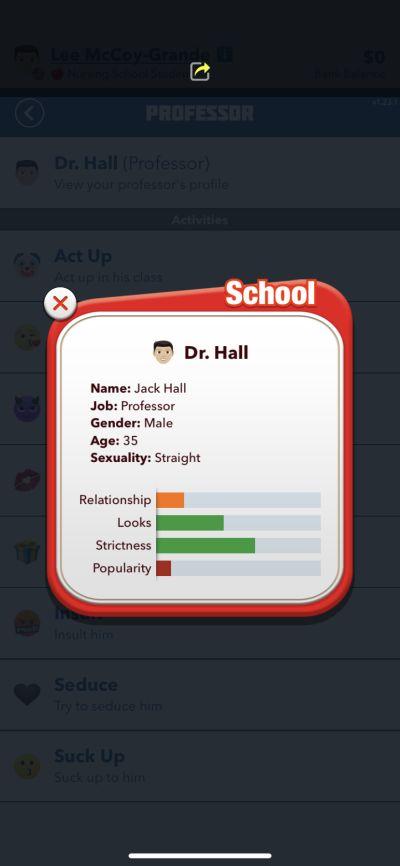 bitlife professor