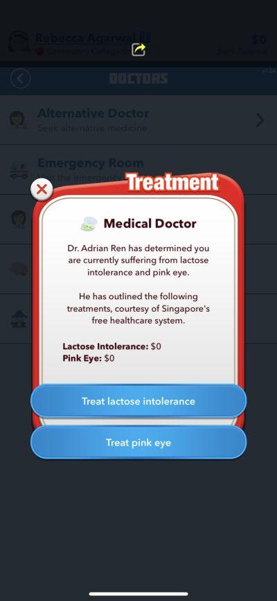 bitlife healthcare system