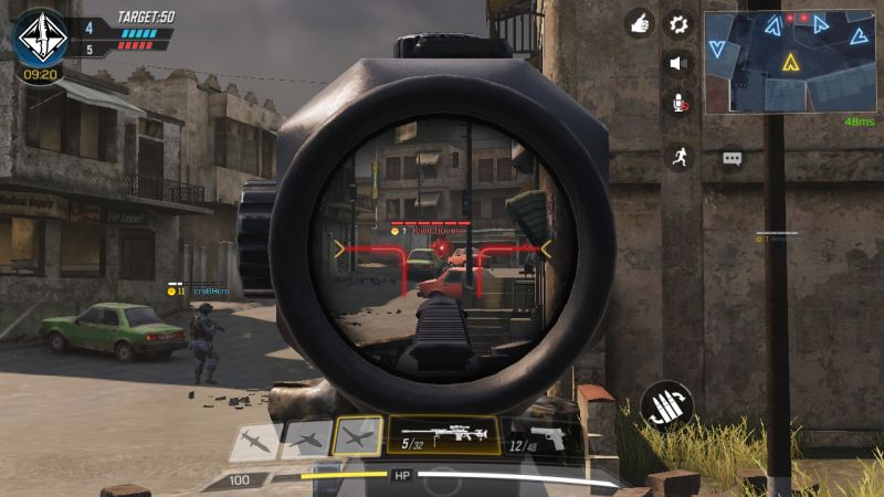 call of duty mobile advanced aiming mode