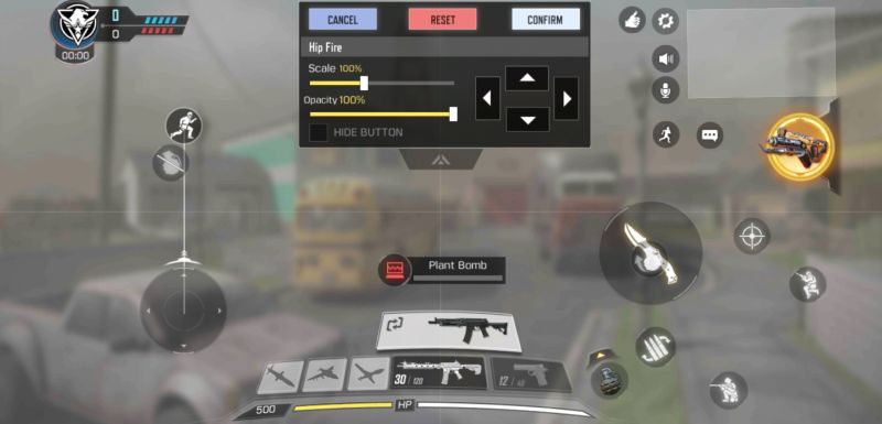 call of duty mobile controls