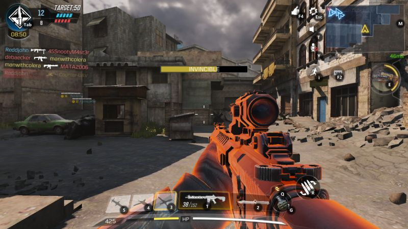 how to use invincibility in call of duty mobile