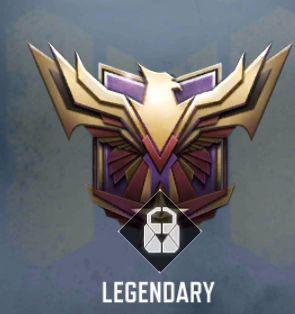 call of duty mobile legendary rank