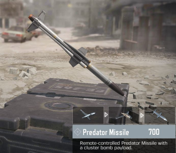 call of duty mobile predator missile