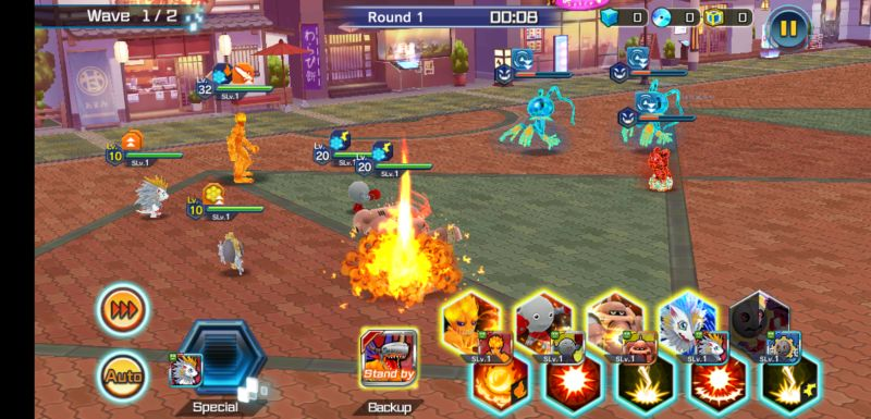how to build a balanced team in digimon rearise