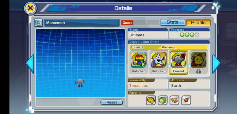 how to upgrade digimon in digimon rearise