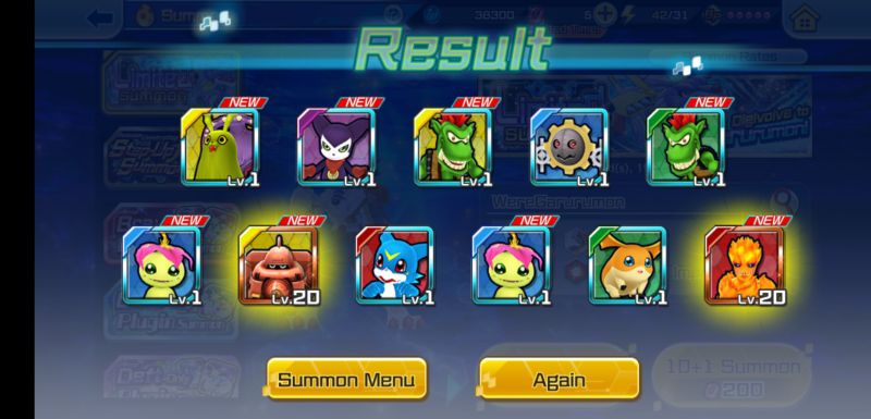 how to reroll in digimon rearise