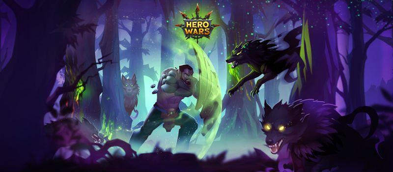 hero wars halloween event