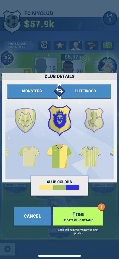 idle eleven club details