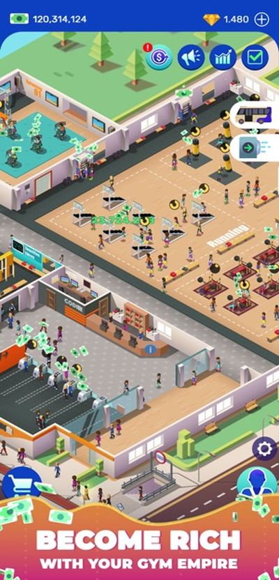 idle fitness gym tycoon cheats