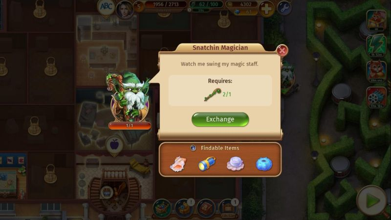 mystery manor snatchin magician