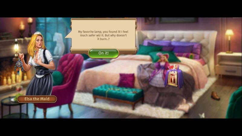 mystery manor story