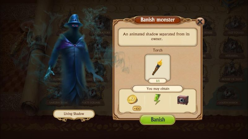 how to banish the monsters in seekers notes hidden mystery