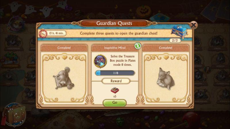 seekers notes hidden mystery desk guardians