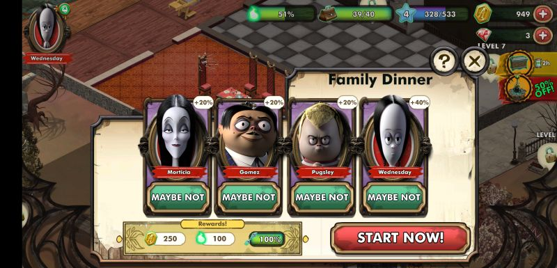 the addams family mystery mansion moments