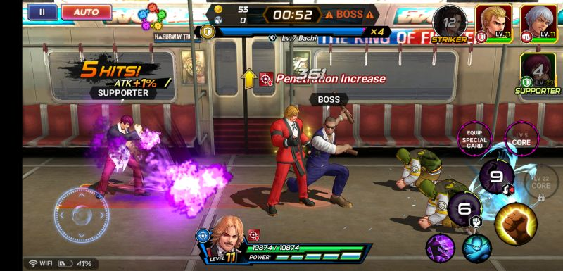 the king of fighters allstar battle tips