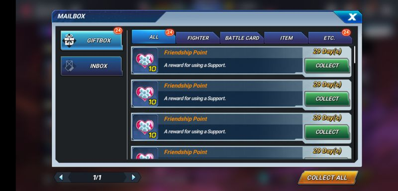 the king of fighters allstar rewards