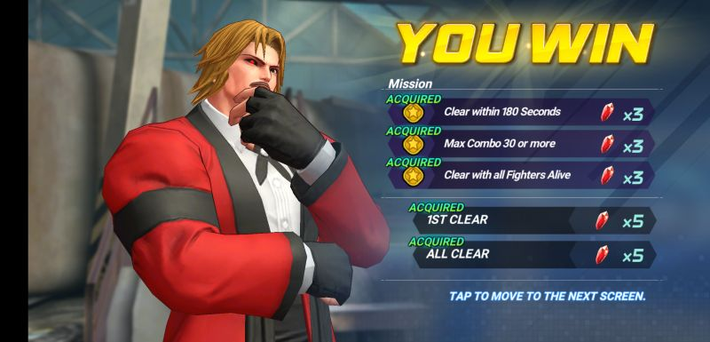 the king of fighters allstar main story