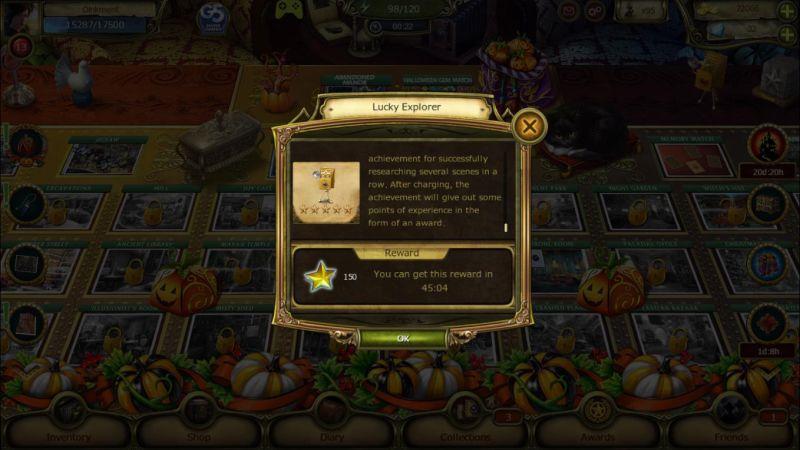 the secret society achievement rewards