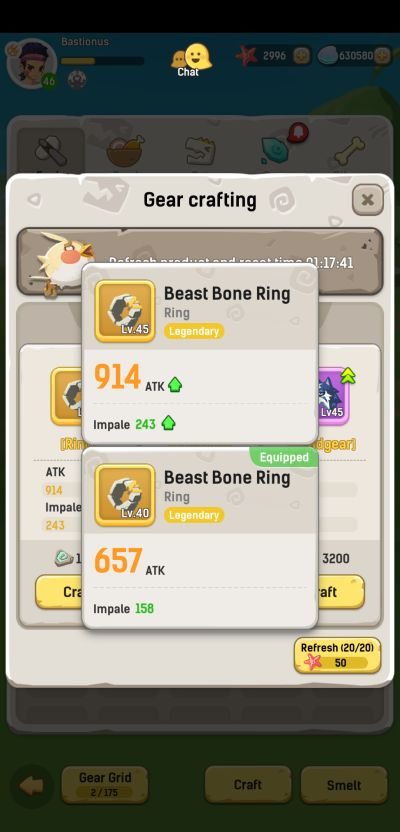 how to get better gear in ulala idle adventure
