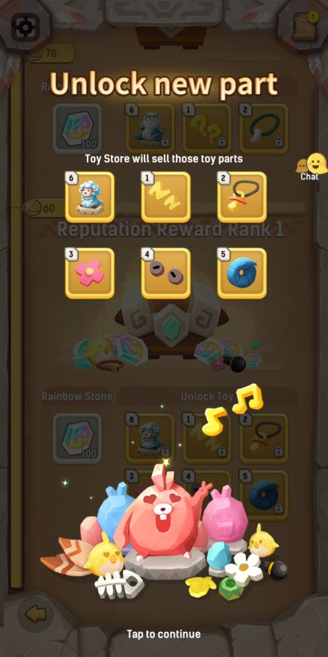 how to unlock better items in ulala idle adventure