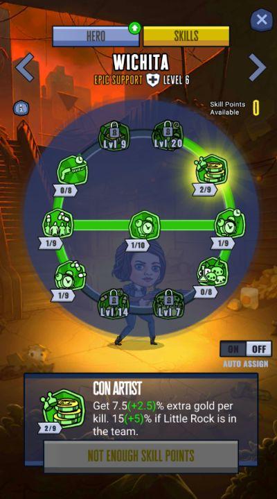 zombieland double tapper skills