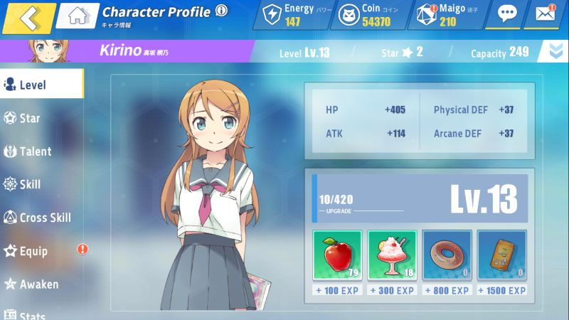 crossing void character profile