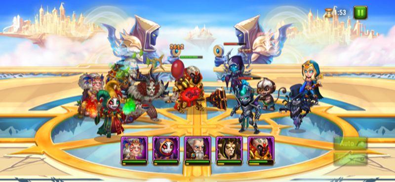 hero wars grand arena team