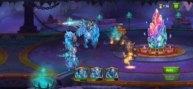 hero wars titans battle