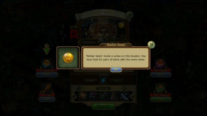 hidden city hidden object adventure game modes