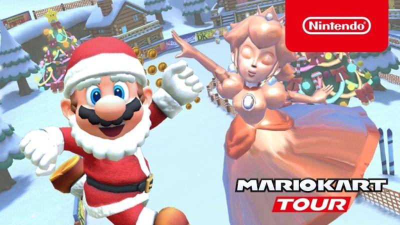 mario kart tour winter tour