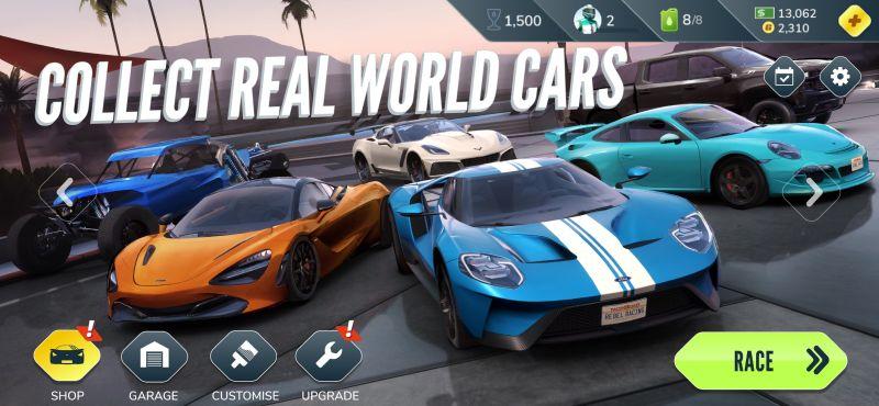 rebel racing cars
