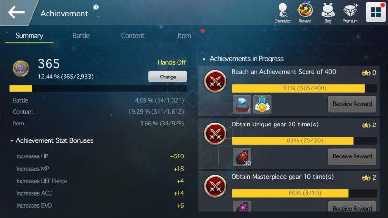 spiritwish achievements