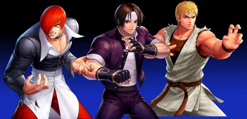 the king of fighters allstar assault team