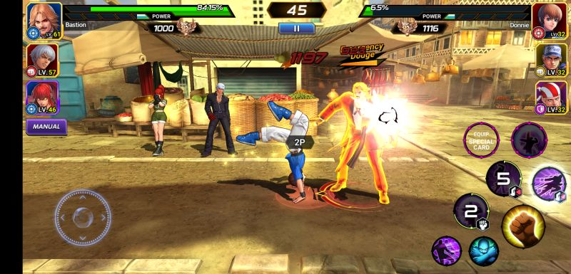 the king of fighters allstar auto mode