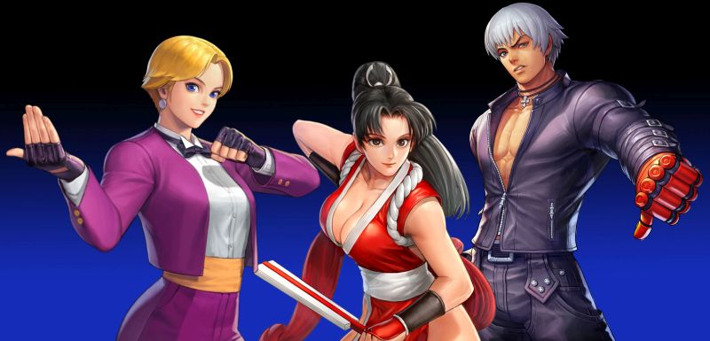 the king of fighters allstar gold and xp farming team