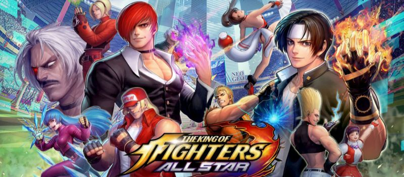 the king of fighters allstar unreleased fighters