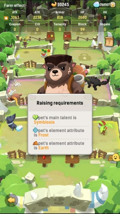 how to assign pets to slots in ulala idle adventure