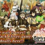 Upcoming Strategy RPG 'Black Clover Phantom Knights' Available for Pre-Registration