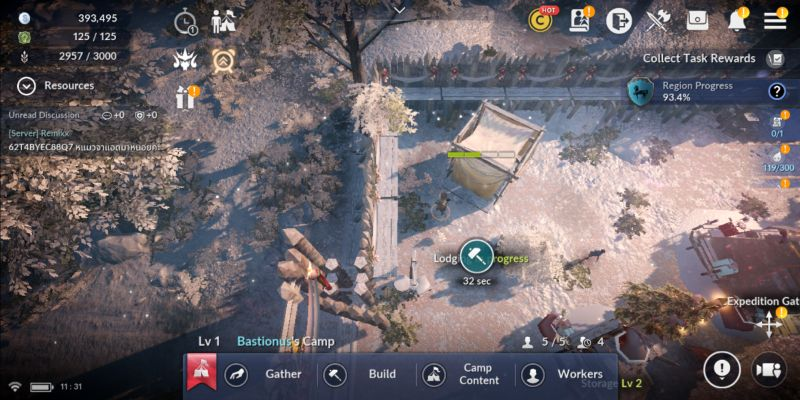 how to increase camp productivity in black desert mobile