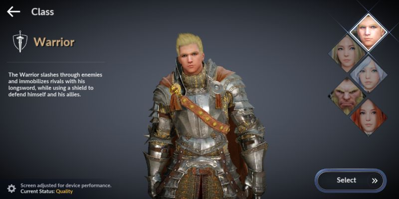 which is the best class in black desert mobile