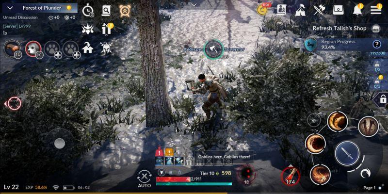 Black Desert Jagd Leveln