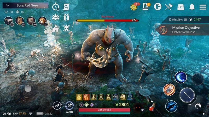 black desert mobile gameplay