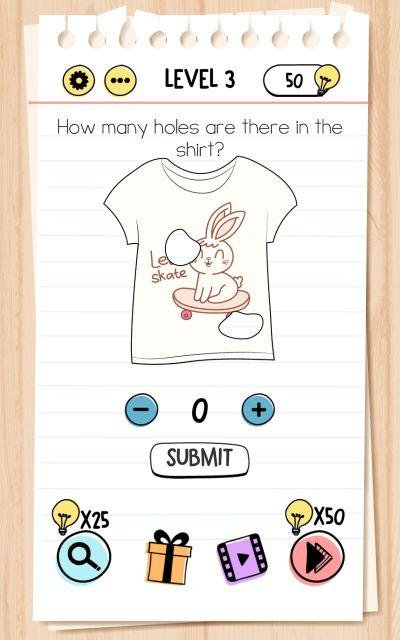 brain test level 3 answer
