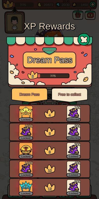 how to earn more xp rewards in dream detective