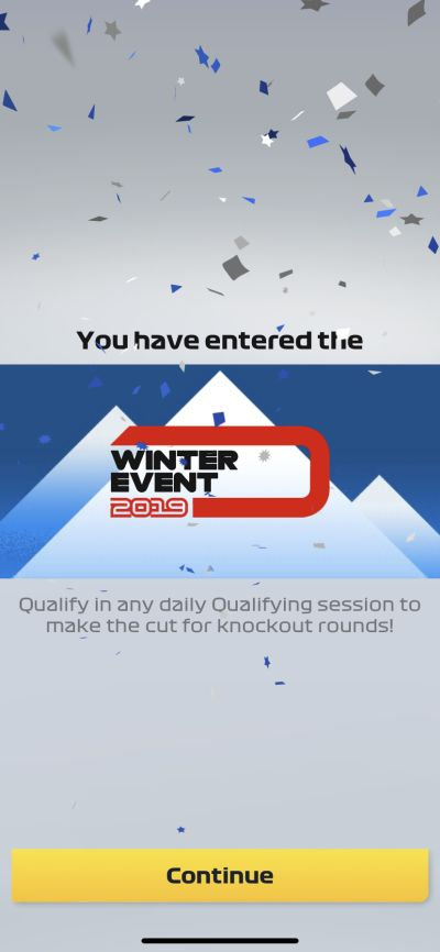f1 manager winter event