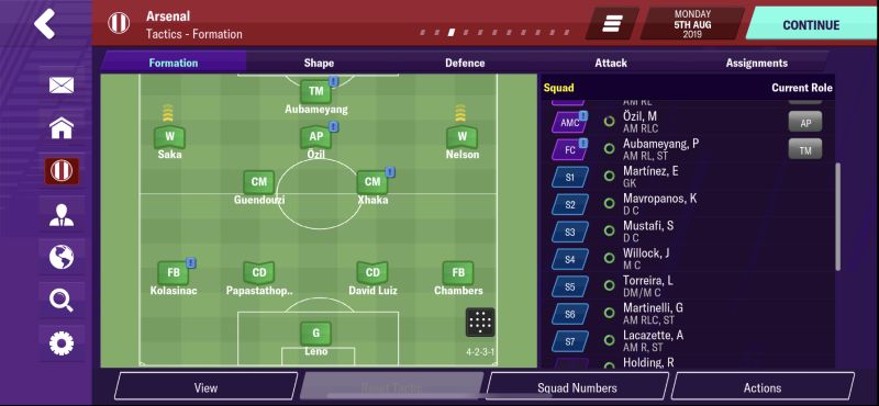 football manager 2020 mobile tactics