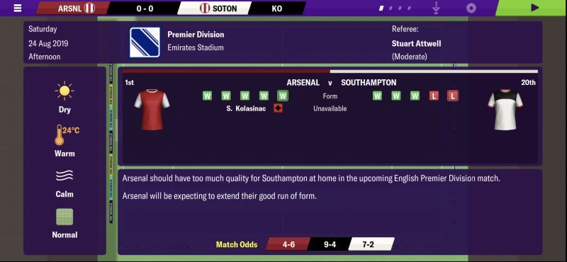 football manager 2020 mobile team mentalities